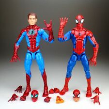"Marvel Legends Unmasked Homecoming & Pizza Spiderman 6"" Loose Action Figure"
