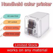 MBrush Mini Handheld Inkjet Printer Color Barcode Printer 1200dpi WiFi/USB APP