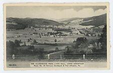 US 59 View, SMETHPORT PORT ALLEGANY PA McKean County Pennsylvania Postcard 2
