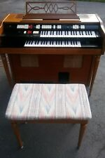 Wurlitzer 4100 BW Organ Circa 1960'S Works WITH BENCH WORKING NICE !