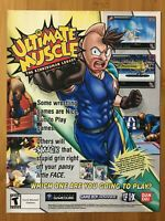 Ultimate Muscle Gamecube 2003 Vintage Poster Ad Art Print Official Promo Rare!
