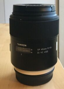 Tamron SP 45mm F/1.8 VC Di USD Lens Canon EF Mount