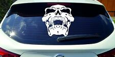 Aufkleber Totenkopf Skull Skelett für Auto Motorrad Scheiben Karosserie  2012