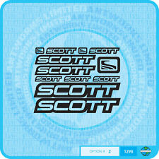 Scott - Bicycle Decals Transfers - Stickers - Set 2