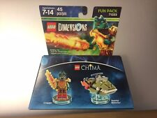 LEGO DIMENSIONS FUN PACK LEGENDS OF CHIMA CRAGGER 71223 New Free shipping