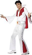 Smiffys - Costume per Travestimento da Elvis Incl. Maglietta Pantaloni Mante
