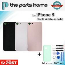 New Back Rear Battery Glass Door Cover Housing Case for iPhone 8 with Adhesive