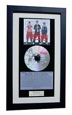 BUSTED 1st+Debut+LP CLASSIC CD Album GALLERY QUALITY FRAMED+EXPRESS GLOBAL SHIP