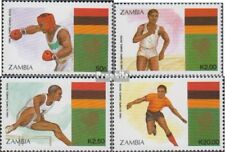 Sambia 464-467 (complete issue) unmounted mint / never hinged 1988 Olympics Summ