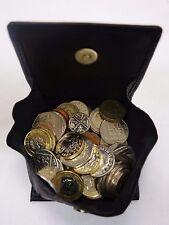 Caballeros De Cuero Cartera Monedero Cuadrado Bandeja para monedas y llaves