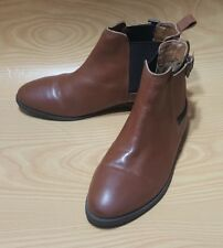TOPSHOP WOMENS BROWN ANKLE BOOTS SHOES SIZE 5
