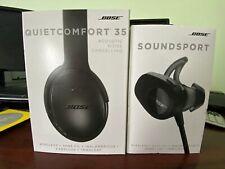 BoseQuietComfort 35 Noise-Cancel & SoundSport Wireless Headphones