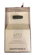 New listing Plantronics M70 Wireless Bluetooth Headset Black New Sealed