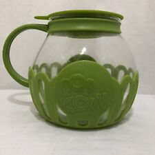 Ecolution Micro Pop Popcorn Popper 3 Quart Green Silicone And Glass