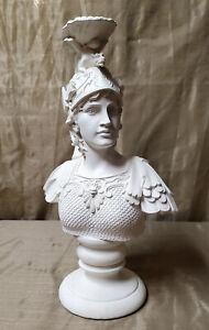 BARINSON Statue Athena Greek Bust Gypsum Polymer Modern Sculpture
