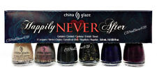 China Glaze Nail Lacquer MINI - HAPPILY NEVER AFTER - 6 Colors x 0.125oz