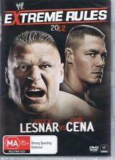 WWE Wrestling EXTREME RULES 2012 Brock Lesnar Vs John Cena DVD - NEW & SEALED