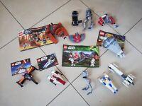 LEGO® STAR WARS BULK LOT X 11 PARTIAL-FULL SETS 9491 30496 75001 30278 & MORE!