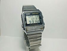 Reloj pulsera CASIO DATA BANK TELEMEMO 50 262 DB-500 Quartz Original Vintage