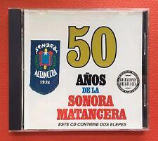La Sonara Matancera 50 Anos De La Sonora Matancera Rumba CD 2Lps SEECO 2010
