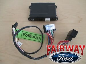 14 thru 18 Fusion OEM Ford Security System w/ Remote Start uses Factory Flip Key