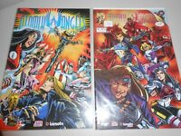 1996 Atomik Angels Comics #1 and #4 from Crusade Comics