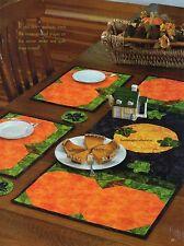 Pumpkin Patch Ensemble Quilt Pattern Pieced/Applique LF