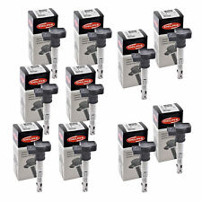 Set of 10 Delphi Ignition Coil GN10322 For Audi Volkswagen Seat A4 04-14