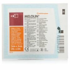 5 x Melolin Low Adherent Absorbent Sterile Dressings 5cm x 5cm FREE DELIVERY