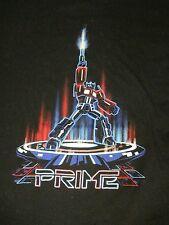 L black PRIME TRANSFORMERS MOVIE t-shirt by GILDAN