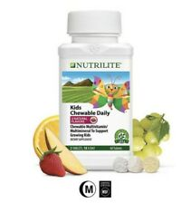 Nutrilite Kids Multivitamin Multimineral Chewable Daily**** Free Fast Shipping