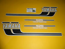 Rd 125 AS3 Yamaha Emblems Compatible Tank and Caches Lateral