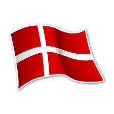 Dänemark Flagge Denmark Autoaufkleber Sticker Fahne Aufkleber DRU 0060