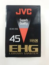 JVC EC-45 EHG LIBRARY MASTER 45min VHS-C Video Cassette Tape sealed