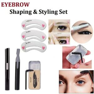 Eyebrow Shaping Shaver Styling Soap Gel Wax Eye Brow Shaper Face Hair Remover UK