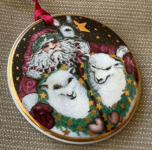 Christmas Ornament 1998 Bing Grondahl Around the World Santa Claus Australia B&G