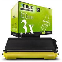 3x MWT ECO Toner kompatibel für Brother HL-5340-DN HL-5340-D DCP-8880-DN