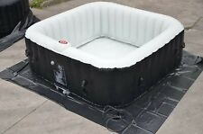 6 Person Inflatable Hot Tub Portable Outdoor Massage Spa Leisure With Cover