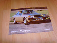 Car brochure 1979 Mazda Montrose