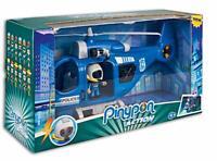 Pinypon Action Helicóptero de Policía con 1 Figura Pin y Pon y Accesorios NEW
