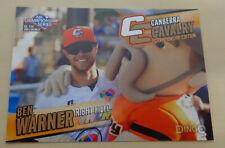 Ben Warner 2013/14 Australian Baseball League Card - Canberra Cavalry