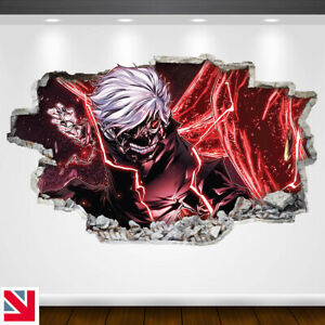 TOKYO GHOUL ANIME Wall Sticker Vinyl Decal Mural Poster