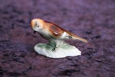 Vogel WA Wagner & Apel Porzellan Figur höhe 4,5cm Porzellanfigur Vögel +++