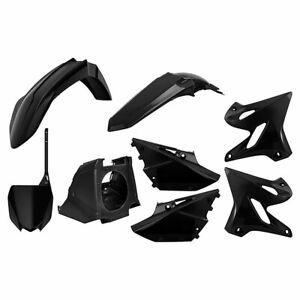 Polisport Restyle Plastic Kit Set 2019 Style Black Yamaha YZ125 YZ250 2002-2020