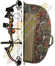 """Fred Bear Cruzer G2 Bow Moonshine Wildfire RH Package 5-70# 12-30"""" With Case"""