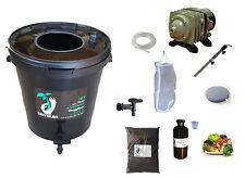 Komplett-Set 30L schwarz für Tee Kompost belüftet : Pumpe Filter tea Brewer