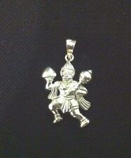 Beautiful A++++ Finest Quality Beautiful Hanuman Ji Pendent 925 Sterling Silver