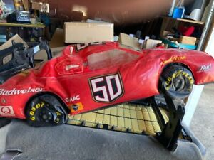 BUDWEISER NASCAR RAQE CAR BLOWUP INFLATABLE BEER SIGN RACING RACE CAR
