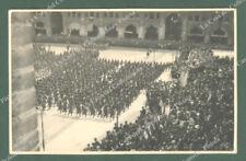 BOLOGNA. Piazza Vittorio Emanuele. Cartolina d'epoca fotografica viaggiata 1930