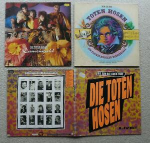 Vinyl: 3x LP Die Toten Hosen !!! 2x Klappcover